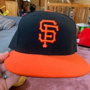 San Francisco giants fitted hat 7 3/8